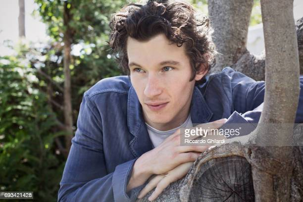 Actor Callum Turner is photographed for Self Assignment on May 21 2017 in Cannes France
