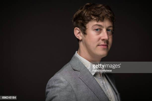 Actor Callum Turner is photographed for the Hollywood Reporter on May 21 2017 in Cannes France