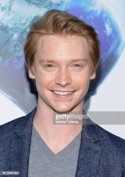 Actor Calum Worthy attends a screening of Paramount Pictures' An Inconvenient Sequel Truth To Power at ArcLight Hollywood on July 25 2017 in...