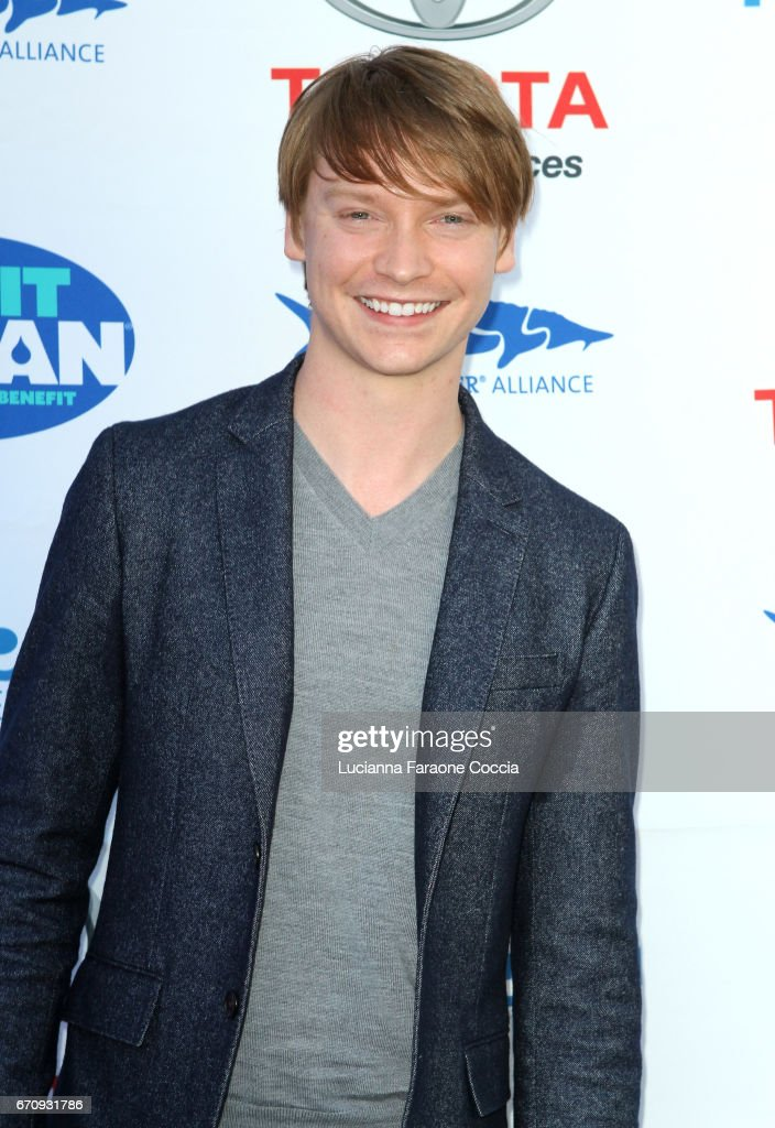 Actor Calum Worthy attends Keep It Clean Live Comedy Benefit for Waterkeeper Alliance at Avalon Hollywood on April 20, 2017 in Los Angeles, California.