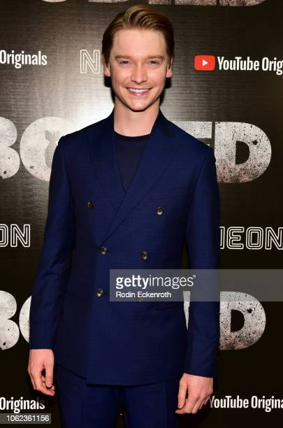 Actor Calum Worthy attends Los Angeles Premiere of YouTube Premium and Neon's Bodied at TCL Chinese 6 Theatres on November 01 2018 in Hollywood...