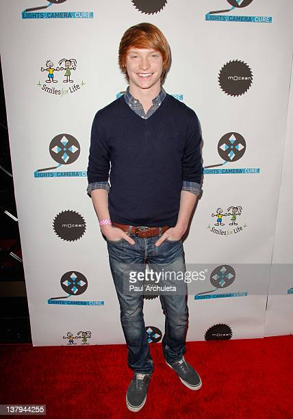 Actor Calum Worthy attends the Lights Camera Cure 2012 Hollywood DanceAThon at Avalon on January 29 2012 in Hollywood California