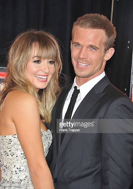 """Actor Cam Gigandet and Dominique Geisendorff arrive at the premiere of Screen Gems' """"Burlesque"""" held at Grauman's Chinese Theater in Hollywood."""