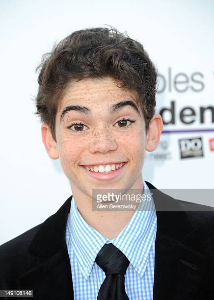 Actor Cameron Boyce arrives at Party For A Cause For Kids In Need hosted by Staples DoSomethingorg teen actress Bella Thorne and Young Hollywood at...