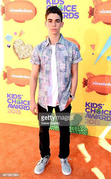 Actor Cameron Boyce attends Nickelodeon's 28th Annual Kids' Choice Awards held at The Forum on March 28 2015 in Inglewood California