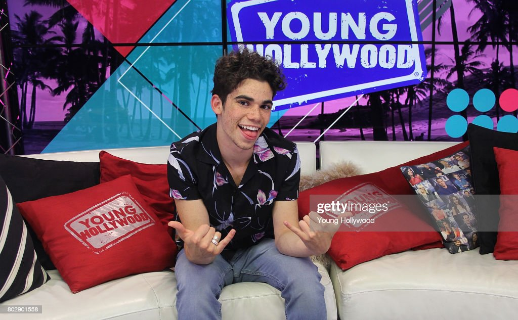 Cameron Boyce Visits Young Hollywood Studio