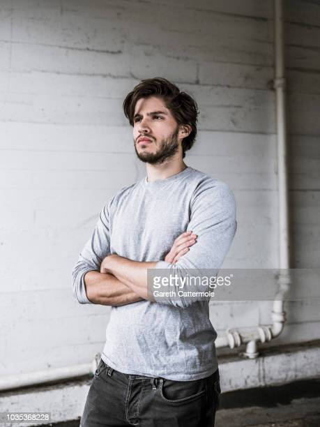 Actor Cameron Cuffe is photographed on August 16 2018 in London England