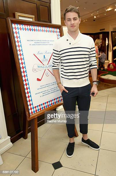 Actor Cameron Fuller attends Brooks Brothers Mini Classic to Benefit St Jude Children's Research Hospital at Brooks Brothers Beverly Hills on June 4...