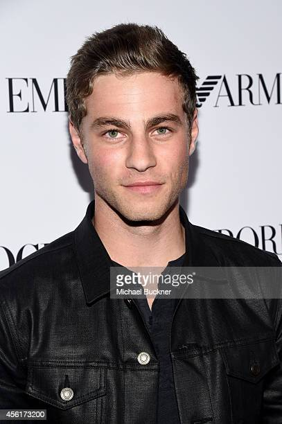 Actor Cameron Fuller attends the 12th Annual Teen Vogue Young Hollywood Party with Emporio Armani on September 26 2014 in Beverly Hills California