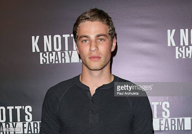 Actor Cameron Fuller attends the Knott's Scary Farm celebrity VIP opening night at Knott's Berry Farm on October 2 2014 in Buena Park California