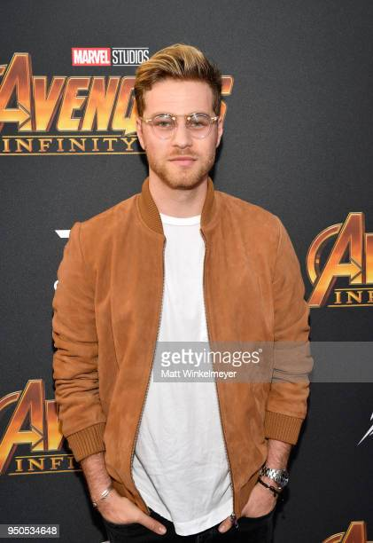 Actor Cameron Fuller attends the Los Angeles Global Premiere for Marvel Studios' Avengers Infinity War on April 23 2018 in Hollywood California