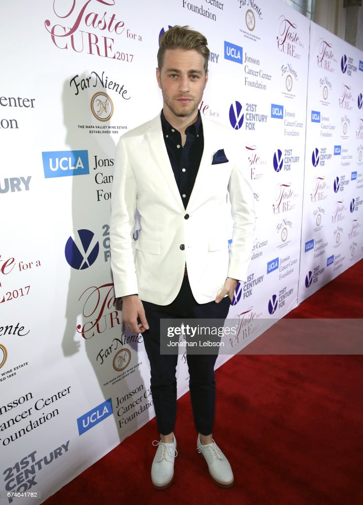 Actor Cameron Fuller attends the UCLA Jonsson Cancer Center Foundation Hosts 22nd Annual 'Taste for a Cure' event honoring Yael and Scooter Braun at the Regent Beverly Wilshire Hotel on April 28, 2017 in Beverly Hills, California.