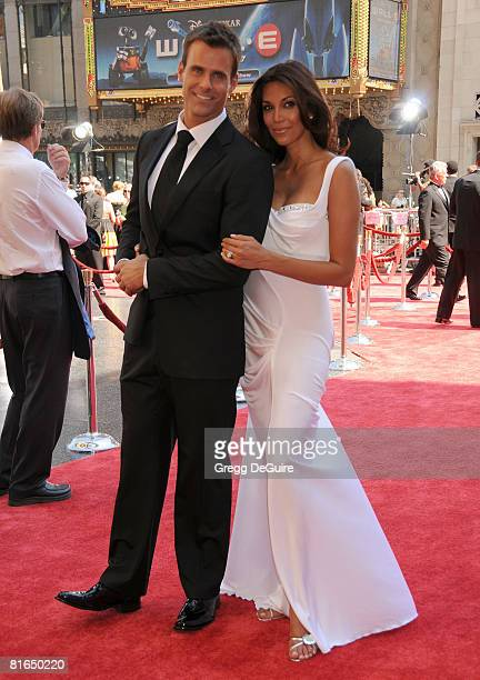 Actor Cameron Mathison and his wife Vanessa Arevalo arrive at the 35th Annual Daytime Emmy Awards at the Kodak Theatre on June 20 2008 in Los Angeles...