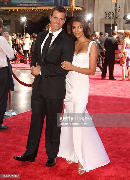 Actor Cameron Mathison and his wife Vanessa Arevalo arrive to The 35th Annual Daytime Emmy Awards at the Kodak Theatre on June 20 2008 in Los Angeles...