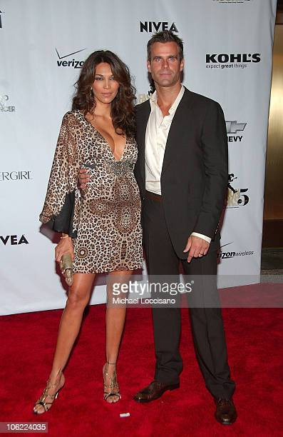 Actor Cameron Mathison and Vanessa Arevalo attend Conde Nast Fashion Rocks at Radio City Music Hall on September 5 2008 in New York City