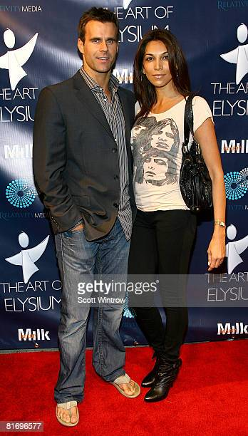 Actor Cameron Mathison and Vanessa Arevalo attend Rebel Rebel a Milk Gallery project presented by The Art of Elysium on June 24 2008 at Milk Gallery...