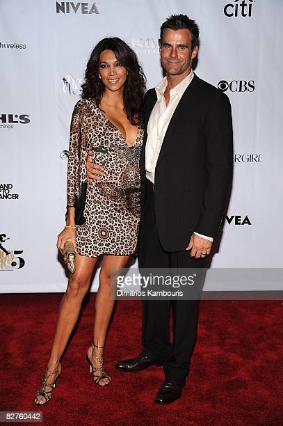 Actor Cameron Mathison and Vanessa Arevalo attend the Conde Nast Media Group's Fifth Annual Fashion Rocks at Radio City Music Hall on September 5...