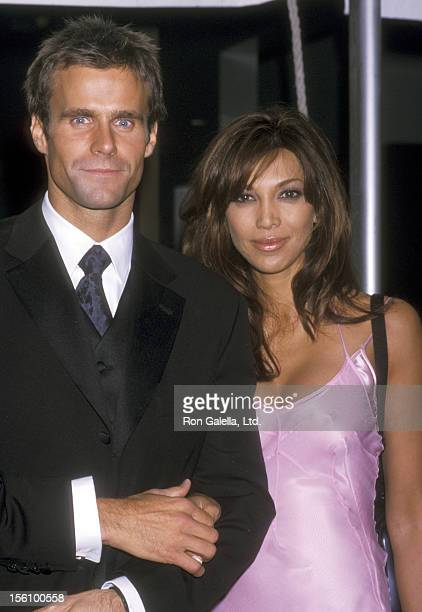 Actor Cameron Mathison and wife Vanessa Arevalo attend the 28th Annual Daytime Emmy Awards on May 18 2001 at Radio City Music Hall in New York City...