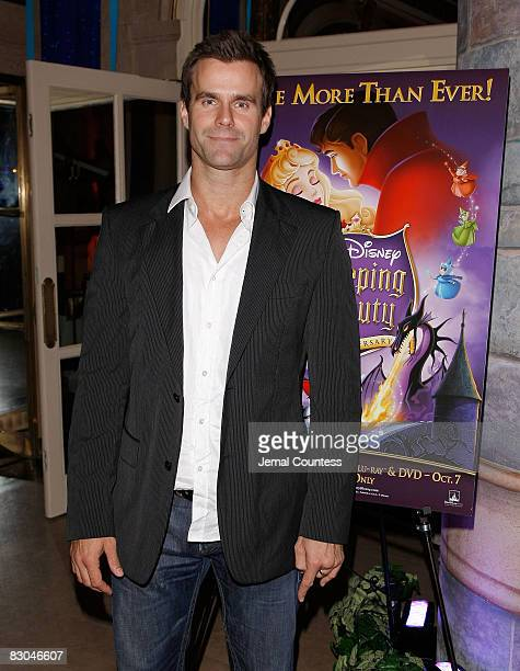 Actor Cameron Mathison at the 50th Anniversary Release of the Walt Disney Classic Sleeping Beauty After Party at the Plaza Hotel on September 28 2088...