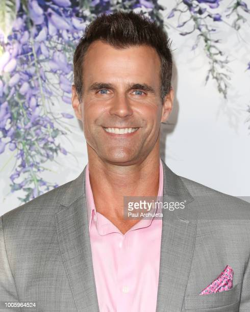 Actor Cameron Mathison attends the 2018 Hallmark Channel Summer TCA at Private Residence on July 26 2018 in Beverly Hills California