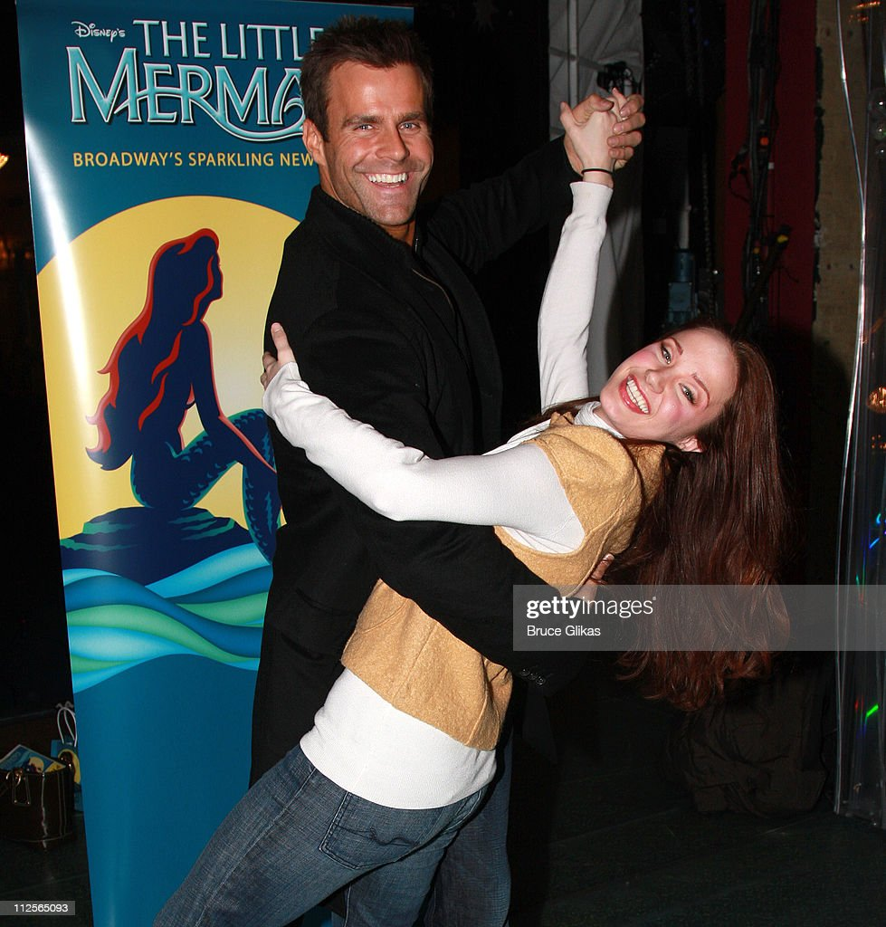 Cameron Mathison Visits The Little Mermaid On Broadway
