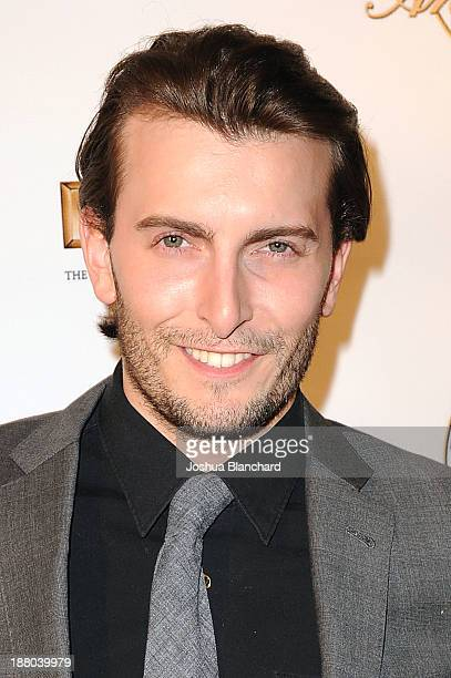 Actor Cameron Moir arrives at Battaglia's 50th Anniversary of Quality and Elegance Celebration on November 14, 2013 in Beverly Hills, California.