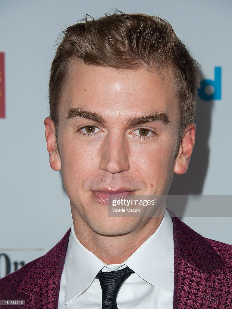 Actor Cameron Moir arrives at the 25th Annual GLAAD Media Awards at The Beverly Hilton Hotel on April 12, 2014 in Beverly Hills, California.