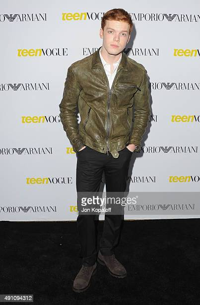Actor Cameron Monaghan arrives at Teen Vogue's 13th Annual Young Hollywood Issue Launch Party on October 2 2015 in Los Angeles California