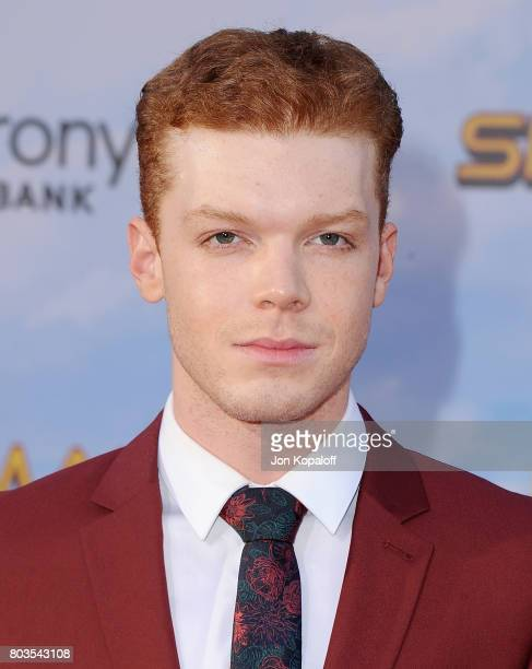 Actor Cameron Monaghan arrives at the Los Angeles Premiere SpiderMan Homecoming at TCL Chinese Theatre on June 28 2017 in Hollywood California