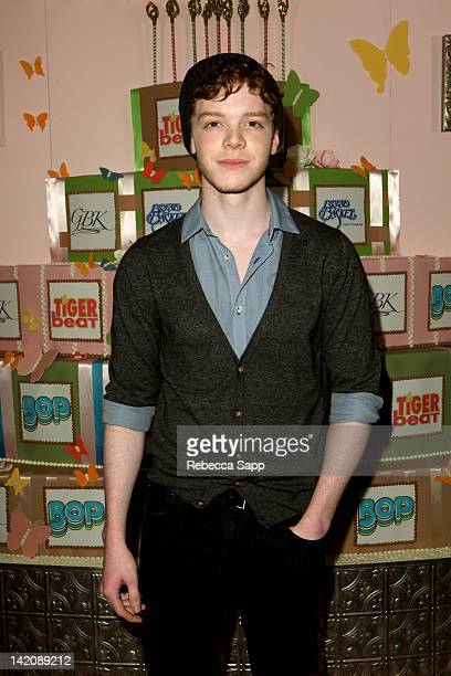 Actor Cameron Monaghan at GBK Bop And Tiger Beat's Kids' Choice Awards Gift Lounge at SLS Hotel on March 29 2012 in Beverly Hills California