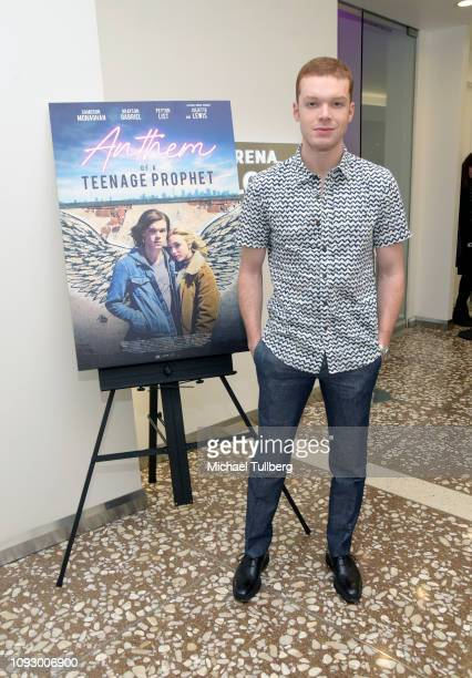 Actor Cameron Monaghan attends a screening and QA session for Anthem Of A Teenage Prophet at Arena Cinelounge on January 11 2019 in Hollywood...