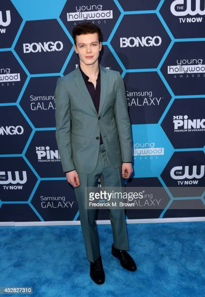 Actor Cameron Monaghan attends the 2014 Young Hollywood Awards brought to you by Samsung Galaxy at The Wiltern on July 27 2014 in Los Angeles...