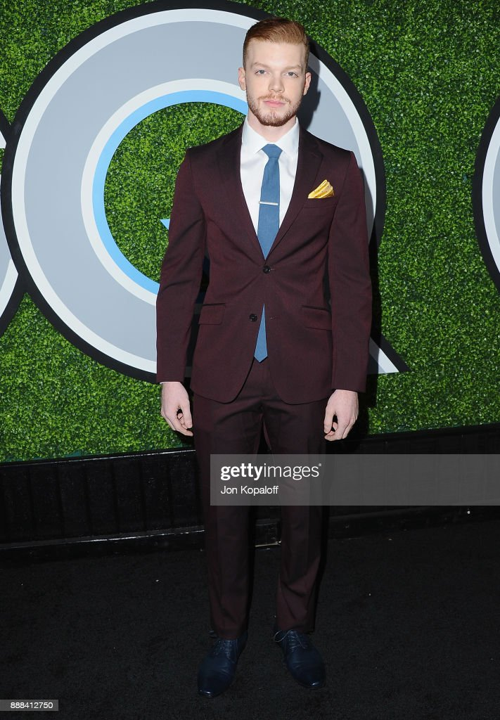 Actor Cameron Monaghan attends the 2017 GQ Men Of The Year Party at Chateau Marmont on December 7, 2017 in Los Angeles, California.
