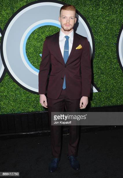 Actor Cameron Monaghan attends the 2017 GQ Men Of The Year Party at Chateau Marmont on December 7 2017 in Los Angeles California