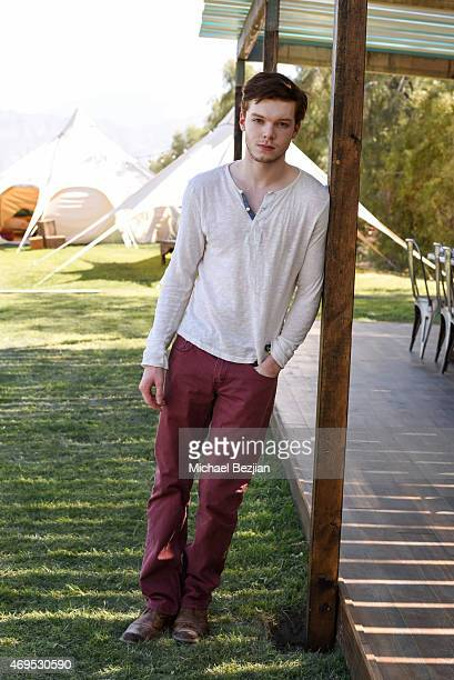Actor Cameron Monaghan attends the Neon Carnival Recovery Brunch hosted by Spotify and Paper Magazine at Soho Desert House at on April 12 2015 in La...