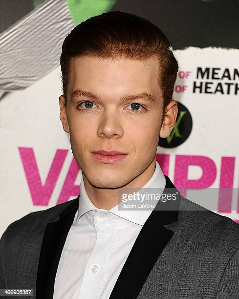 Actor Cameron Monaghan attends the premiere of Vampire Academy at Regal Cinemas LA Live on February 4 2014 in Los Angeles California