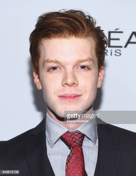 Actor Cameron Monaghan attends Vanity Fair and L'Oreal Paris Toast to Young Hollywood hosted by Dakota Johnson and Krista Smith at Delilah on...