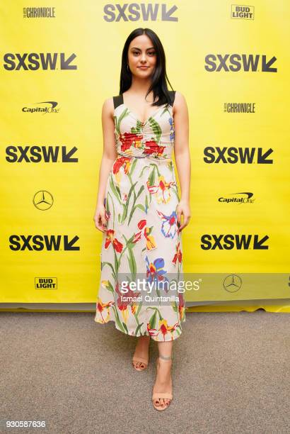 Actor Camila Mendes attends the premiere of The New Romantic during SXSW at Stateside Theater on March 11 2018 in Austin Texas