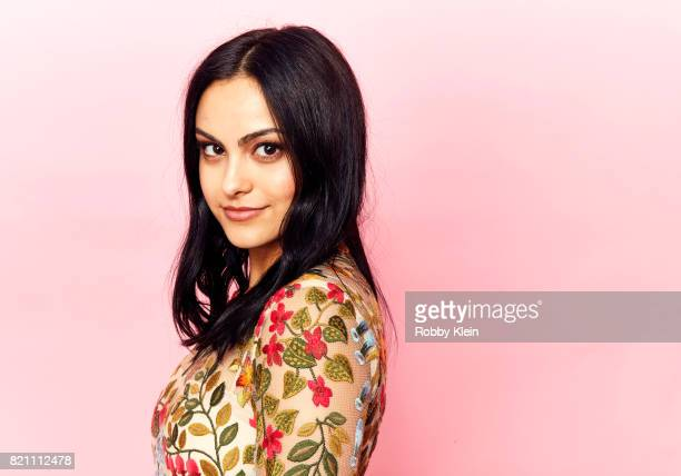Actor Camila Mendes from CW's 'Riverdale' poses for a portrait during ComicCon 2017 at Hard Rock Hotel San Diego on July 22 2017 in San Diego...