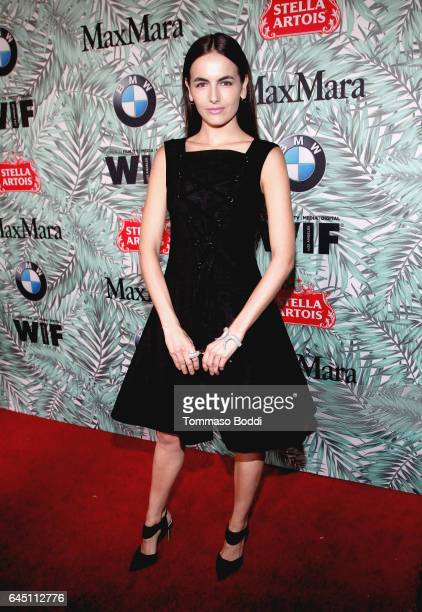Actor Camilla Belle attends the tenth annual Women in Film PreOscar Cocktail Party presented by Max Mara and BMW at Nightingale Plaza on February 24...