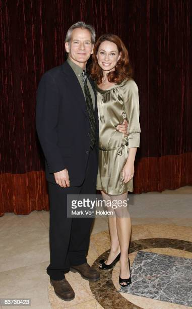 Actor Campbell Scott and Actress Kathleen McElfresh attends the 2008 Williamstown Theatre Festival Gala honoring Lewis Black at Cipriani on 23rd...