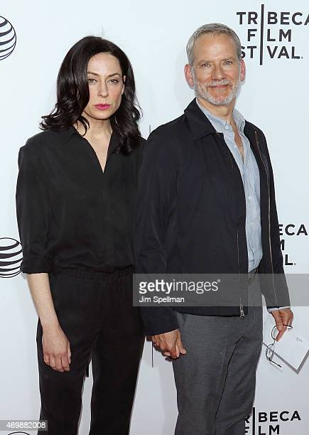 Actor Campbell Scott and wife Kathleen McElfresh attend the world premiere of Live From New York during the 2015 Tribeca Film Festival at The Beacon...