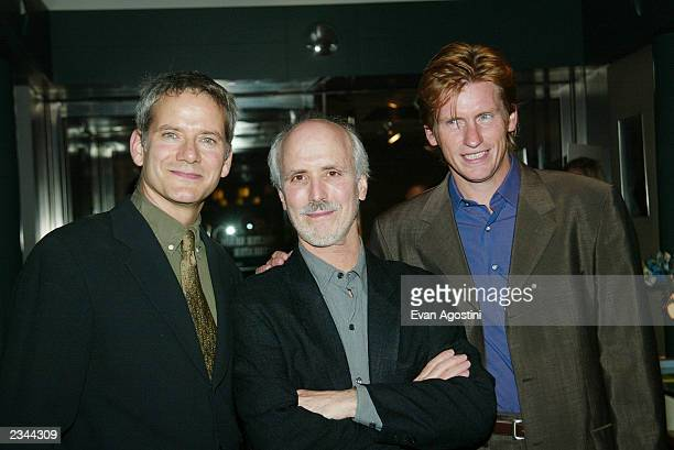 Actor Campbell Scott director Alan Rudolph and actor Denis Leary attend a special VIP screening of 'The Secret Lives Of Dentists' at the Walter Reade...