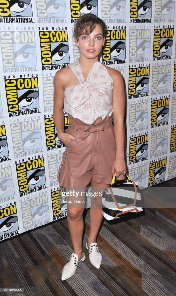 Actor Camren Bicondova at the 'Gotham' Press Line during Comic-Con International 2017 at Hilton Bayfront on July 22, 2017 in San Diego, California.