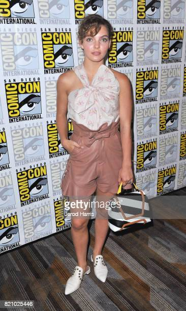 Actor Camren Bicondova at the Gotham Press Line during ComicCon International 2017 at Hilton Bayfront on July 22 2017 in San Diego California
