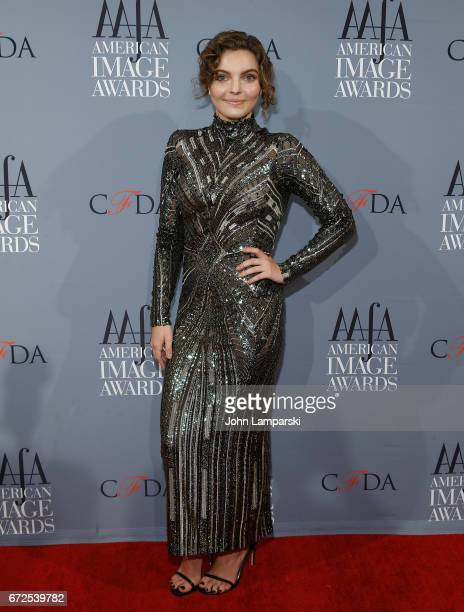 Actor Camren Bikondova attends the 39th annual AAFA American Image Awards at 583 Park Avenue on April 24 2017 in New York City
