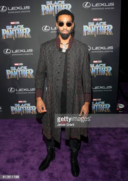 Actor Camryn Howard at the Los Angeles World Premiere of Marvel Studios' BLACK PANTHER at Dolby Theatre on January 29 2018 in Hollywood California