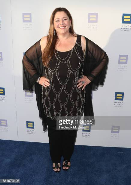 Actor Camryn Manheim at The Human Rights Campaign 2017 Los Angeles Gala Dinner at JW Marriott Los Angeles at LA LIVE on March 18 2017 in Los Angeles...