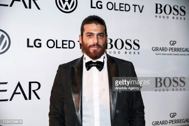 Actor Can Yaman who was chosen 'Rising Star of the Year' award attends the GQ Men Of The Year Award Ceremony at the Volkswagen Arena in Istanbul...