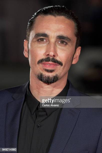 Actor Canco Rodriguez attends 'Casi 40' premiere during the 21th Malaga Film Festival at the Cervantes Theater on April 20 2018 in Malaga Spain
